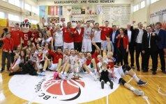NKL čempionų titulas lieka Marijampolėje