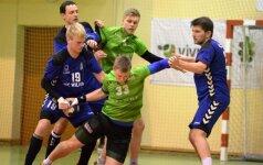 Susitinka HC Vilnius ir VHC Šviesa (Rankinio lygos nuotr.)