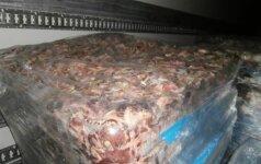Įtariama, kad įmonė nelegaliai pardavė 220 tonas kiaulienos