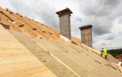 Šiltiname stogą: kaip išvengti didžiausių klaidų?