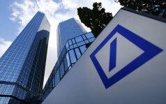 """Deutsche Bank"" pranešė apie netikėtą pelną"