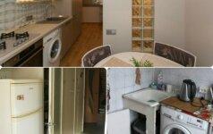 PRIEŠ ir PO: 2 kambarių standartinio buto pokyčiai