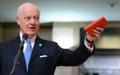 JT siekia surengti naujas derybas dėl taikos Sirijoje
