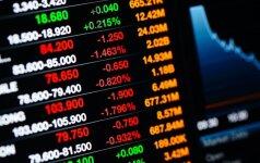 ECB vadovo pareiškimai nusmukdė Europos akcijų indeksus