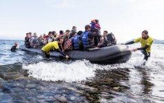 VSAT vadovybė aplankė Lesbo saloje patruliuojančius Lietuvos pasieniečius