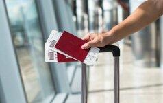 Olandijos oro uoste įvyko nedidelė griūtis