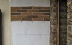 Darau Pats: fasado klijavimas lanksčiomis klinkerinėmis plytelėmis