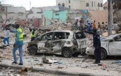 Per sprogimą Mogadiše žuvo mažiausiai 15 žmonių