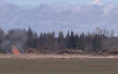 Šiauliuose sunaikinta aviacinė bomba