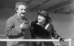 A. Einšteino paslaptys: IŠTVIRKĘS ROMANTIKAS slėpė ligotą dukrą ir audringus romanus su meilužėmis