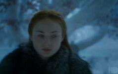"""Naujasis """"Sostų karų"""" anonsinis filmukas primena apie atėjusią žiemą"""