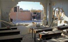 Rusija neigia surengusi 22 vaikų gyvybes nusinešusius aviacijos smūgius Sirijoje