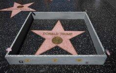 Donaldo Trumpo žvaigždė Holivudo šlovės alėjoje