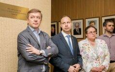 Ramūnas Karbauskis, Aurelijus Veryga, Agnė Širinskienė