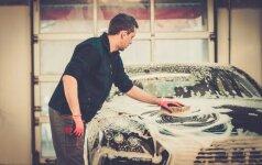 Įspėjimas vairuotojams: nežinantys, kur plauti automobilius mokės baudas