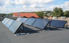 Ateities pastatų inžinerinės sistemos – tai ne tik saulės kolektoriai