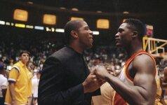 """NBA legendos """"Magico"""" Johnsono istorija įamžinta kino juostoje"""