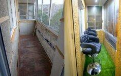 PRIEŠ ir PO: kaip neišlaidaujant atnaujinti seną balkoną