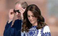Kodėl princas Williamas ir K. Middleton niekada NESILAIKO UŽ RANKŲ: hercogienė neprisilietė net vyrui pravirkus FOTO