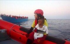 Prie Libijos krantų per dieną išgelbėti apie 6,5 tūkst. migrantų