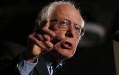 B. Sanderso politinę kampaniją Oklande nutraukė gyvūnų teisių aktyvistai