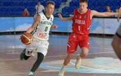 Lietuvos šešiolikmečių vaikinų rinktinė nesėkme pradėjo Europos čempionatą