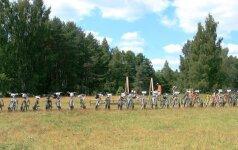 Savaitgalį naujuosius Belvilio takus išbandė 850 dviratininkų