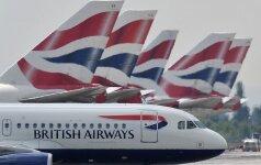 """""""British Airways"""" ir """"Iberia"""" uždarė atstovybes Rusijoje"""