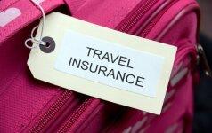 Kad kelionė nevirstų nuostoliais: už ką atsako draudimas, o kas – tik keliautojo atsakomybė