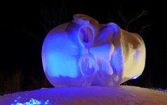 """Ledo skulptūrų ir šviesos festivalyje """"Pasaka"""" dalyvaus garsus ledo skulptorius"""