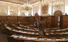 Latvijos koalicijos partijos pasirašė vyriausybės programą ir partnerystės sutartį