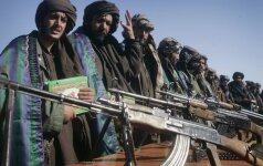 Maskva toliau neigia tiekianti ginklus Talibanui
