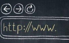 """Lietuviškam interneto adresui – 25-eri: ar galima """"nulaužti"""" internetą?"""
