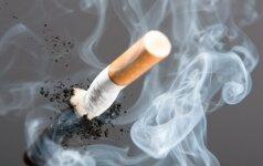 Rūkymas ir nevaisingumas susiję tiesiogiai
