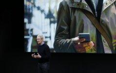 Apple produktų pristatymas