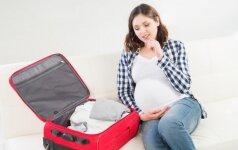 TOP 15 daiktų važiuojant gimdyti