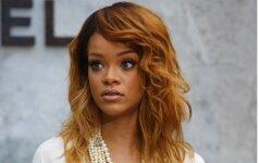 Rihanna privertė akis nukreipti į savo tarpukojį