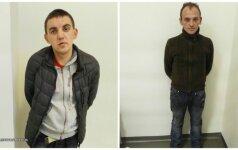 Vilniuje sulaikyti kišenvagiai, Andrej Bezuško ir Andrius Perevičius