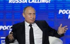 V. Putinas: NATO atmetė Rusijos siūlymą lėktuvams neskraidyti virš Baltijos jūros su išjungtais atsakikliais