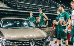 Žalgiriečiai 18-ą sezoną vairuos Renault automobilius