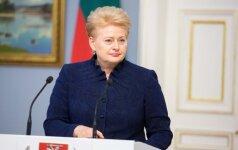 """D. Grybauskaitė: Lietuva kuria daugiausia problemų """"Rail Baltica"""" įgyvendinimui"""