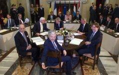 """ES šalys steigėjos pasisako už """"dviejų greičių"""" Europą"""