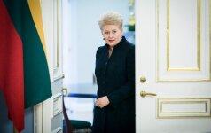 President D. Grybauskaitė