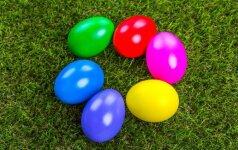 6 būdai, kaip nudažyti kiaušinius Velykoms