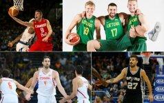 Į NBA – užsieniečių antplūdis: šis sezonas tapo rekordiniu