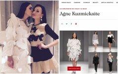 """""""Vogue"""" įtraukė A.Kuzmickaitę į prestižinį dizainerių sąrašą"""