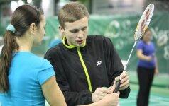 Sporto žurnalistai išsiaiškins geriausią badmintono žaidėją