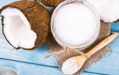 10 genialių būdų, kaip namuose panaudoti kokosų aliejų