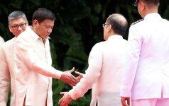 R. Duterte prisaikdintas Filipinų prezidentu