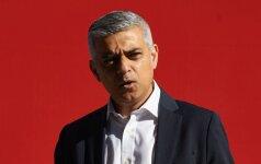 Londonas po jo visuomenę suskaldžiusios kampanijos meru turėtų išsirinkti musulmoną